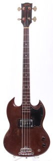 Gibson Eb 0l Long Scale 1973 Cherry Red