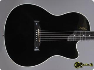 Gibson Chet Atkins Sst Ebony 1993 Black Ebony