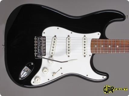 Fender Stratocaster 1976 Black Ebony