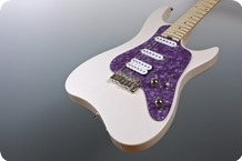 M.O.V. Guitars Viola SP22 P HSS White Pearl