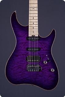 M.o.v. Guitars Viola Sp22 T Hss Deep Purple Burst