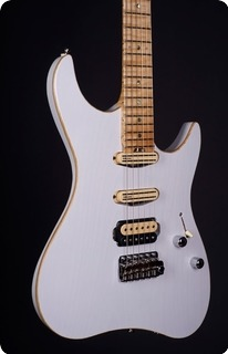 M.o.v. Guitars Viola Sp22 T Hss Transparent White