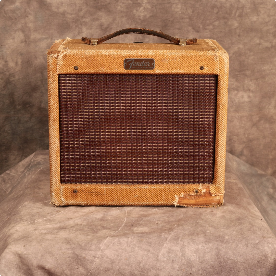Fender Tweed Amp >> Fender Champ 5f1 1958 Tweed Amp For Sale Andy Baxter Bass Guitars Ltd