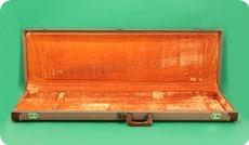 Fender Jazz Bass Or Precision Bass Case 1961 Brown
