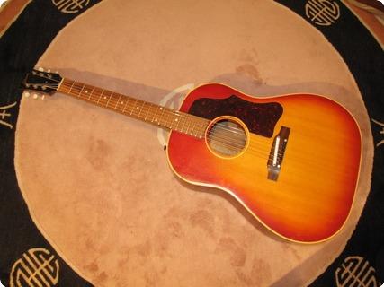 Gibson J 45 1962 Cherry Sunburst