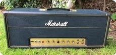 Marshall-JTM 100 FLAG LOGO Hendrix, Page, Clapton-1967-Black