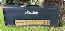 Marshall JTM 50 FLAG LOGO PLEXI 1967 Black