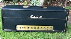 Marshall-JMP 50 Head With Laydown Mains Transformer -1973-Black