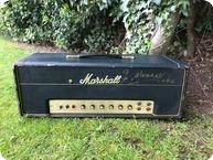 Marshall JMP 50 Plexi 1968 Black