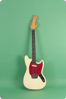 Fender Musicmaster Ii 1966 White