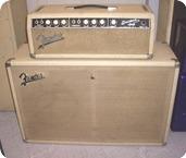 Fender-Bassman Blonde-1964-Blonde