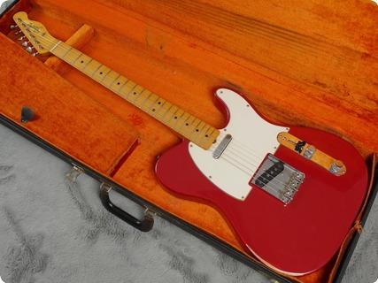 Fender Telecaster 1966 Dakota Red Refin