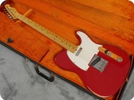 Fender Telecaster 1966 Dakota Red Refin
