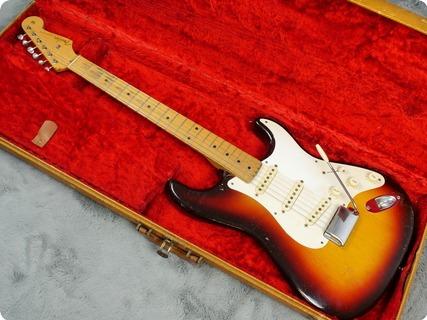 Fender Stratocaster 1958 Three Tone Sunburst