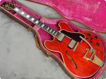 Gibson Es 355 Tdc Mono 1960 Cherry Red