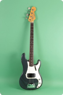 Fender Precision Bass 1966 Charcoal Frost Metallic