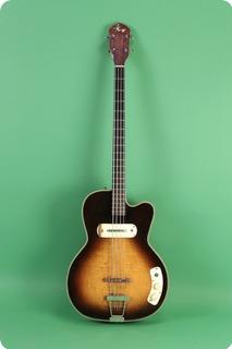 Kay Bass Model K 5965 1956 Sunburst