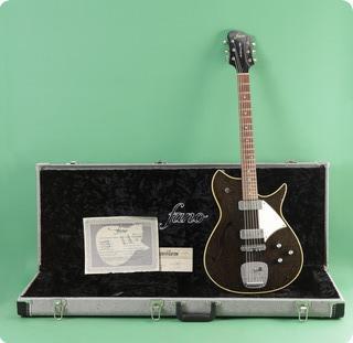 Fano Guitars Alt De Facto Rb6 Thinline  2014 Silver Fox