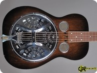 Dobro Model 55 Roundneck 1932 Sunburst