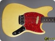 Fender Music Master II 1965 Olympic White
