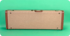 Fender Case For Telecaster Stratocaster Or Esquire 1962 Brown
