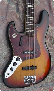 Fender Jazz Bass Lefty 1971 Sunburst