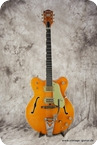 Gretsch-6120 Chet Atkins Nashville-1966-Amber Red (orange)