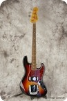 Fender-Squier Jazz Bass-1982-Sunburst