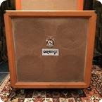 Orange Vintage 1974 Orange 4x12 Original Guitar Cabinet Amplifier Fane 122593