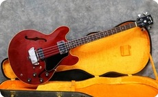 Gibson EB2D 1968 Cherry Red