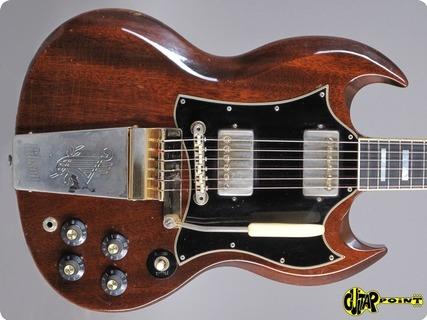 Gibson Sg Custom 1969 Walnut Brown