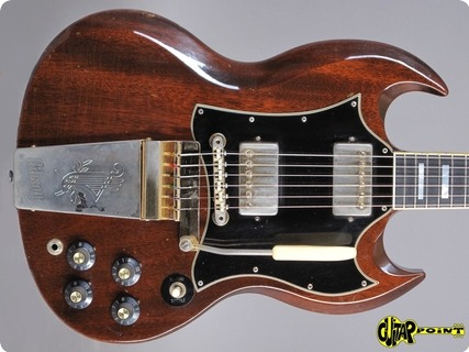 Gibson Sg Custom 1969 Walnut Brown