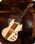 Gibson SG Les Paul Custom GIE1053 1963 Polaris White