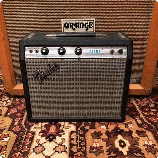 Fender Vintage 1978 Fender Champ Amp Usa Silverface Valve Tube Amplifier