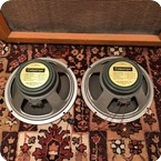 Celestion Vintage 1967 Celestion Pair T1221 G12M Greenback 20w Speakers