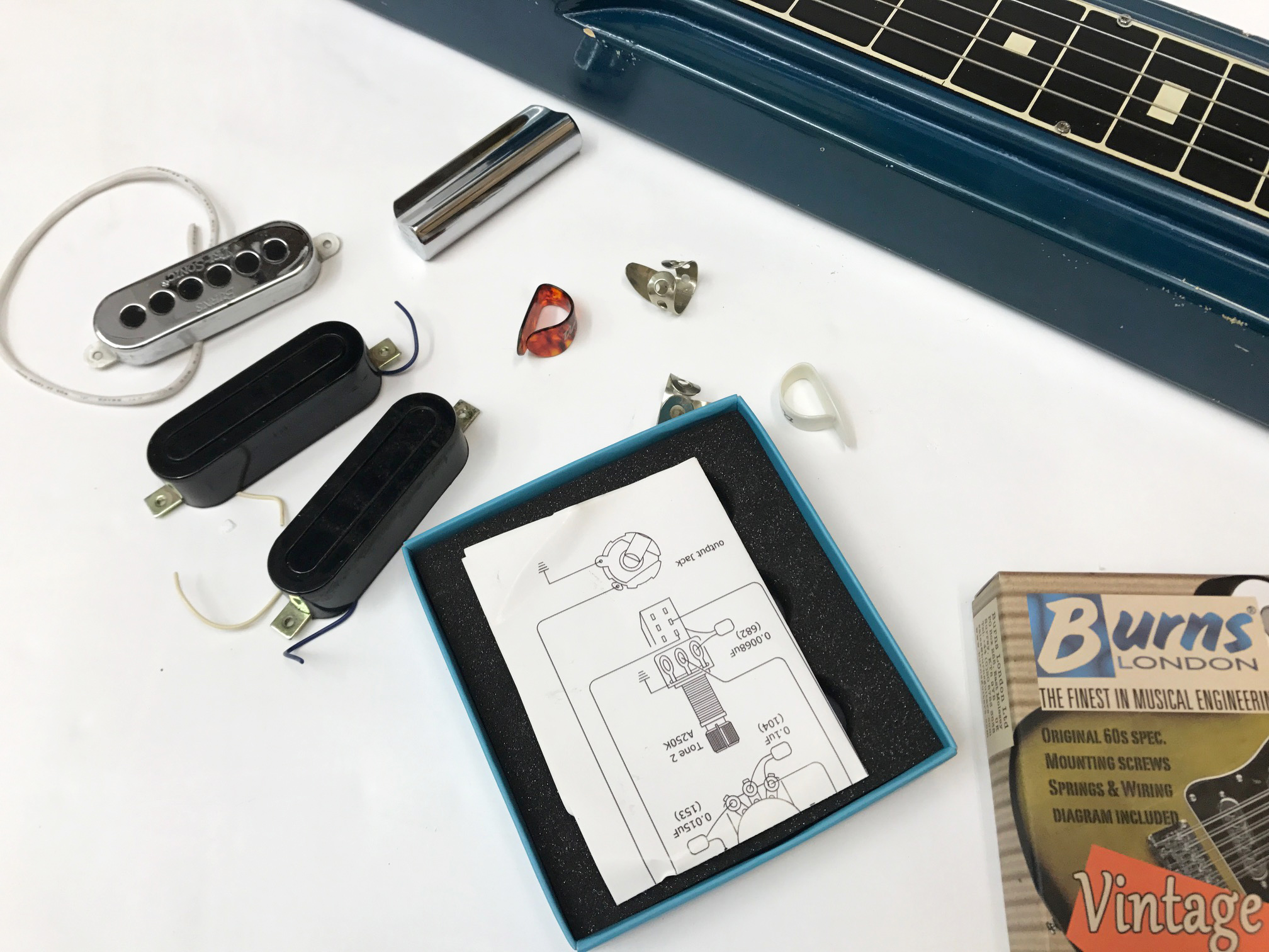 Steel Guitar Wiring Diagram | Wiring Liry on