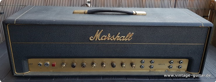Marshall Super Pa 50 Black Tolex