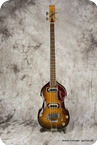 Aria Diamond Bass Sunburst