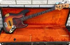 Fender-Jazz Bass-1965-3 Tone Sunburst