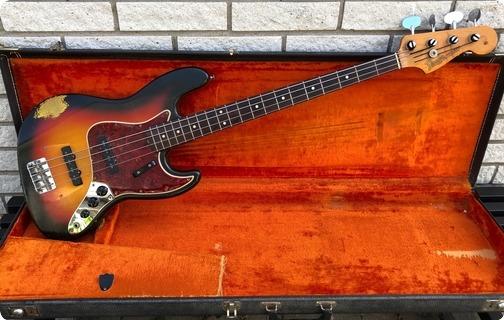 Fender Jazz Bass 1965 3 Tone Sunburst