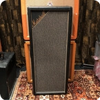 Marshall Vintage 1967 Marshall Pinstripe 4x12 Celestion T1221 PA Column Cabinet Copy