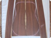 AMAZON HYBRID BRAZILIAN ROSEWOOD Back Sides Set 1985 Natural