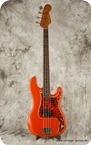 Fender Precision Bass 1965 Fiesta Red Refinish