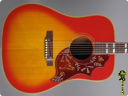 Gibson Hummingbird 1965 Cherry Sunburst