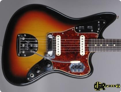Fender Jaguar 1964 3 Tone Sunburst