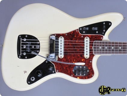 Fender Jaguar 1966 Olympic White