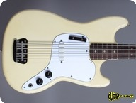 Fender Musicmaster Bass 1974 Olympic White