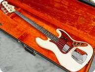 Fender-Jazz Bass-1964-Olympic White
