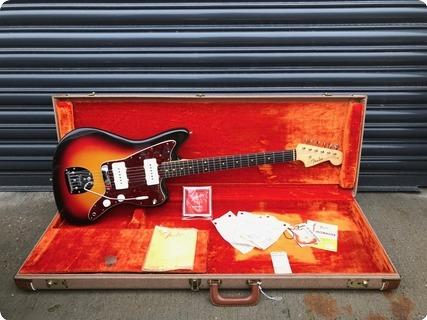Fender Jazzmaster The Worlds Finest 1962 Sunburst