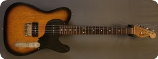 Real Guitars Custom Build P 90 T 2018 Brown Sunburst